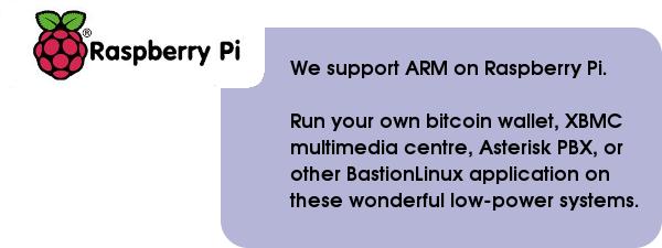 BastionLinux/Raspberry Pi — Last Bastion Network Pty Ltd